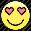 smiley, in, love