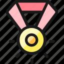 award, medal, shine icon