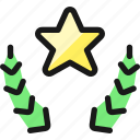 award, star, head icon