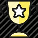 award, trophy, star icon