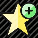 rating, star, add