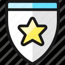 rating, star, badge