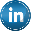 contact, linkedin, media, social icon