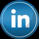 contact, linkedin, media, social icon