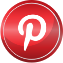 contact, media, pinterest, social, web icon