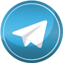 contact, media, social, telegram, web icon
