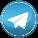 contact, media, social, telegram, web icon