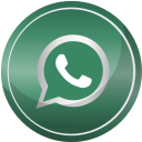 contact, media, social, web, whatsapp icon