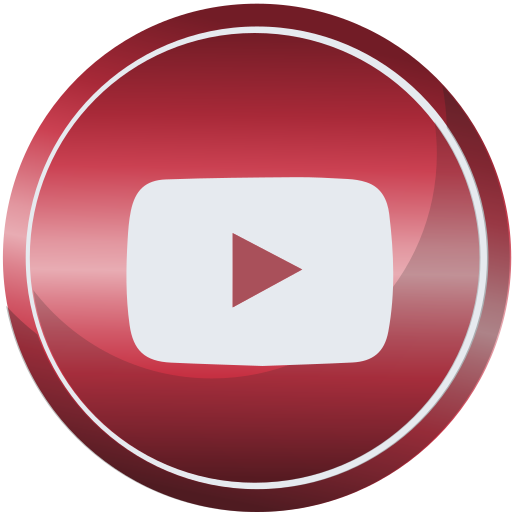 contact, media, social, web, youtube icon