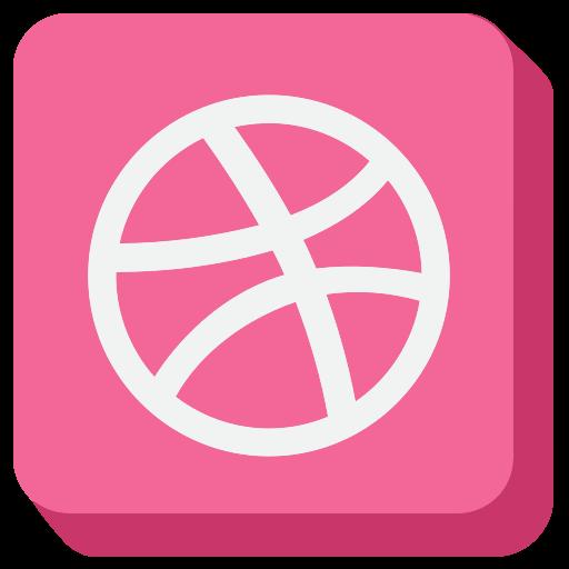 ball, dribbble, dribble, media, social, social media, socialmedia icon