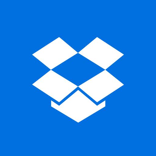 colored, dropbox, high quality, media, social, social media, square icon