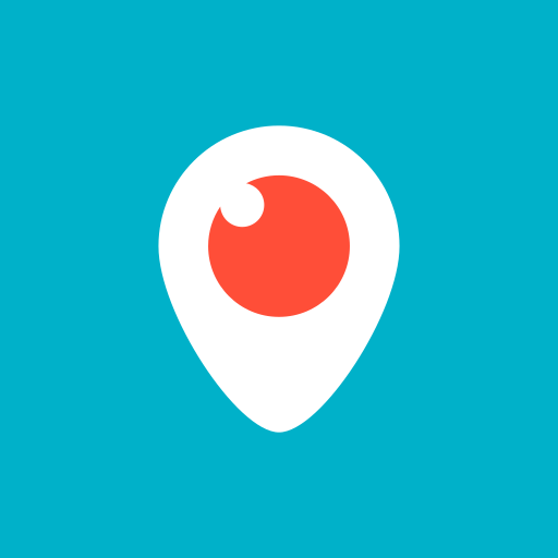 colored, high quality, media, periscope, social, social media, square icon