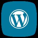 media, social, wordpress icon