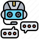 assistant, chatbot, communication, support, talk