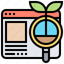 content, evergreen, interesting, marketing, website icon
