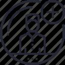 add, avatar, friend, human, man, people, profile icon