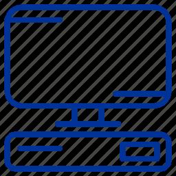 monitor, multimedia, screen, technology icon