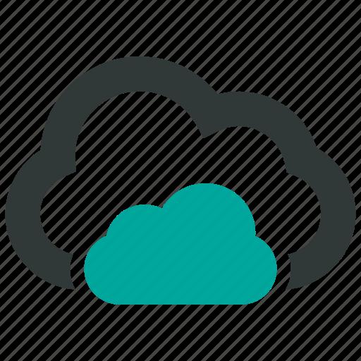 backup, cloud, data, icloud icon