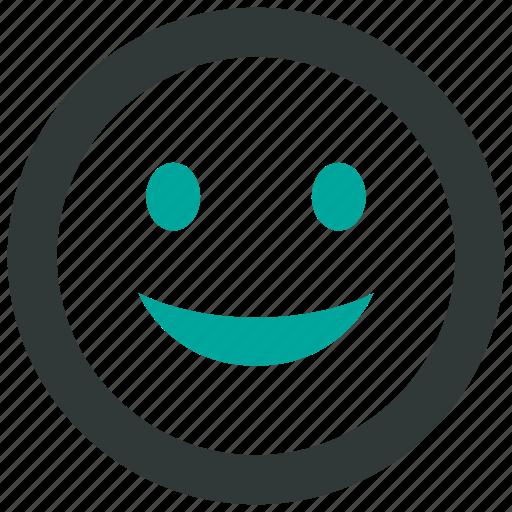 happy, smile, smiley icon