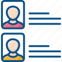about user icon, account, details, identity, information, student, university icon