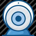 broadcast, broadcasting, cam, camera, chat, live, stream, streaming, video, web cam, web-cam, webcam icon icon