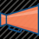 ads, advertising, loudspeaker, marketing, megaphone, multimedia, promotion icon icon