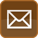 email, brown, square, letter, envelope, send, mail, message, delivery, basic, post, contact, address