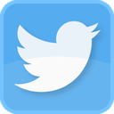 blue bird, follow, retweet, square, tweet, tweets, twit, twitter, twitter bird, twitter logo, twitter symbol icon
