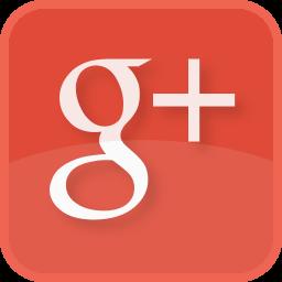 google+, plus, red, social media, square icon