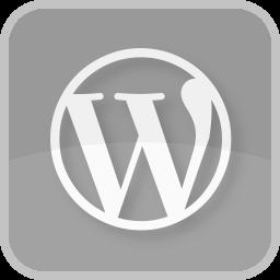 communication, wordpress, wordpress logo icon