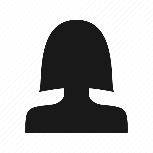 account, avatar, contact, female, portrait, profile icon