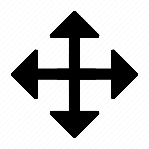 arrow, move icon