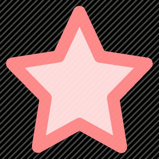 achievement, bookmark, circle, favorite, ranking, star, yellowicon icon