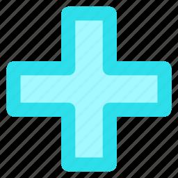 add, append, blue, circle, create, new, plusicon icon