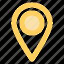 address, blue, circle, location, map, marker, navigationicon icon