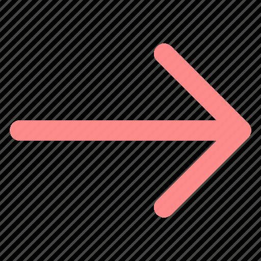 arrow, circle, east, forward, green, next, righticon icon