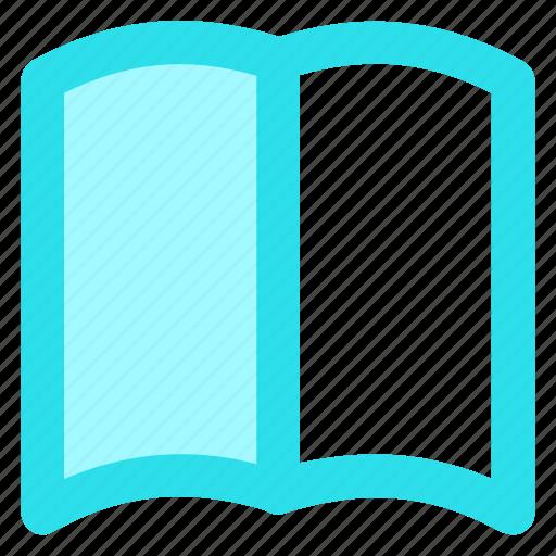book, bookmark, circle, learn, library, read, readingicon icon