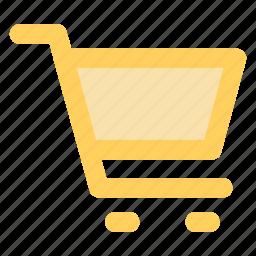 buy, cart, circle, ecommerce, green, shopping, trolleyicon icon