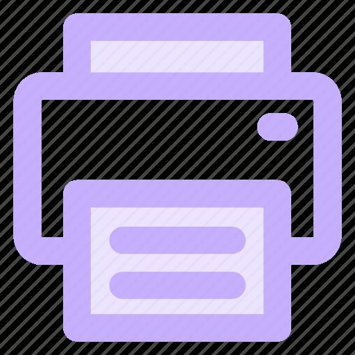 circle, copier, office, print, printer, printingicon icon