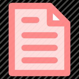 circle, document, file, form, note, reporticon icon