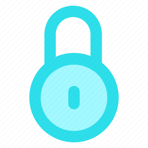circle, lock, privacy, safe, secure, securityicon icon