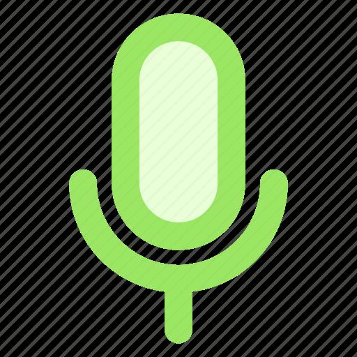 circle, mic, microphone, recording, speaker, speechicon icon