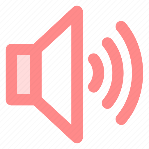 circle, music, sound, sounds, speaker, volumeicon icon