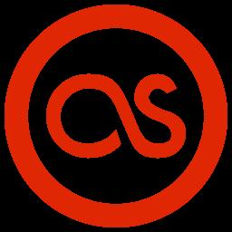 as, last.fm, lastfm icon