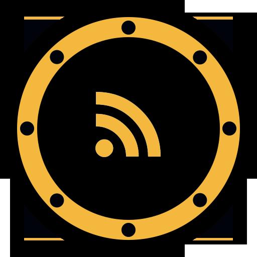 btn, internet, network, rss, social, web, website icon