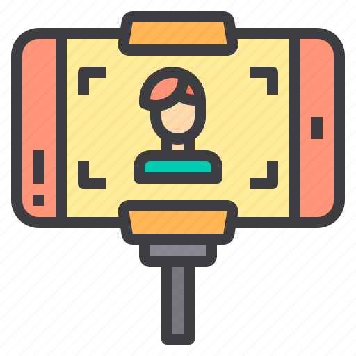 Communication, network, phone, selfie, social icon - Download on Iconfinder