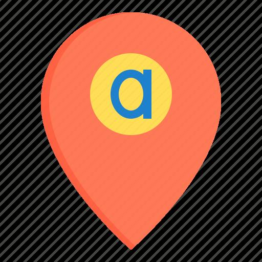 address, communication, navigator, network, social icon