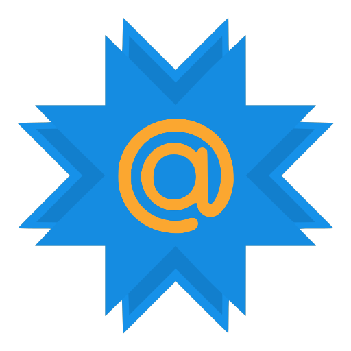 at, mail, mailru icon