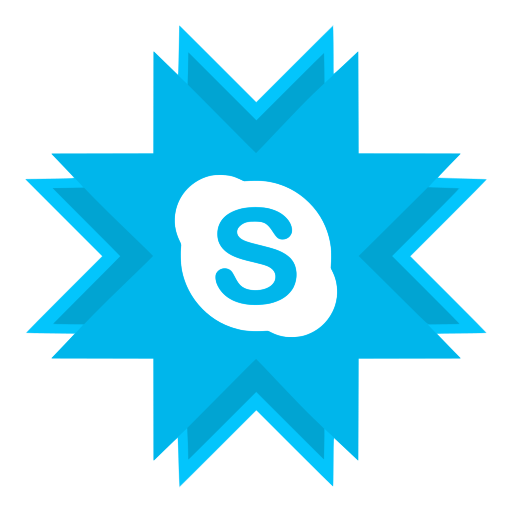 im, instant messaging, messenger, skype, voip icon