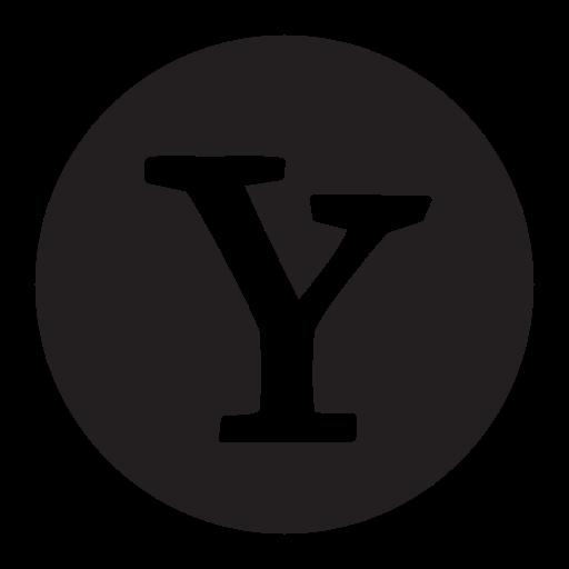 chat, networks, search, social, socialmedia, yahoo icon